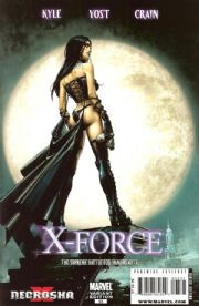 X-Force #23 Clayton Crain Retail Variant X-Necrosha (2009) Marvel comic book